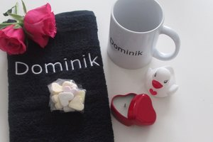 Valentijnsdag cadeau met naam