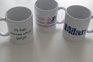 Koffiemokken met naam