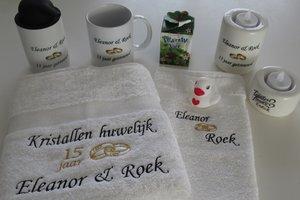 Huwelijk en Jubileum cadeau