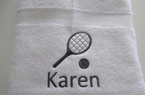 Sporthanddoek met naam  & Hobby cadeautjes