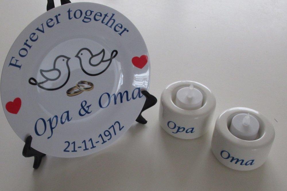Ongekend Cadeau voor Opa en Oma | Speciaal voor Oma en Opa kado EP-41