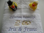Zilveren huwelijk cadeau | 25 jaar getrouwd