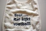 Voetbal Slabber met Naam of Tekst