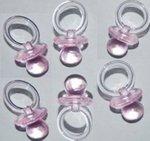 Geboorte speentjes roze