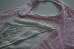 Badschort & Baby Badcape in 1 / Omslagdoek Roze