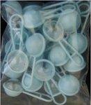 Mini Rammelaars blauw 24 stuks / Geboortebedankjes