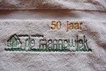 Handdoek met bedrijfslogo / Bedrijfsnaam