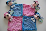 Glow in the Dark Minnie Mouse knuffeldoek met Naam
