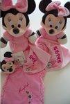 Minnie Mouse geboorte knuffel met Naam