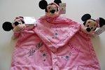 Minnie Mouse Knuffeldoek met Naam