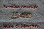 Koralen huwelijk cadeau   35 jaar getrouwd