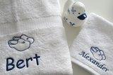 handdoek met klompen