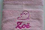 handdoek met zeehondje