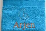 handdoek met maan en ster