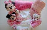 baby cadeaumand roze