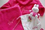roze badjas