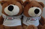 knuffelberen met logo