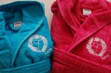 kinderbadjassen met logo