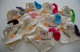 knuffelpoppetjes met logo