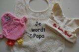 Babymuts met Naam Knoopmuts Ecru_