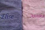 meisjes badlakens met naam