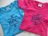 baby t-shirt met logo