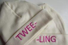 Tweeling babymutsen / Tweeling