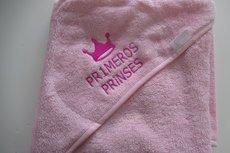 Badcape met Kroontje voor een Prins of Prinsesje