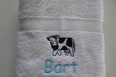 Handdoek met Koe | Koeien handdoek