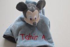 Mickey Mouse Knuffeldoek met Naam