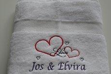 Liefdes handdoek