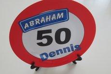Abraham 50 jaar met naam