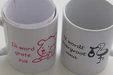 Aankondiging zwangerschap cadeau | Koffie, thee of drinkbeker