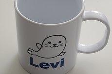 Koffiemok met zeehond