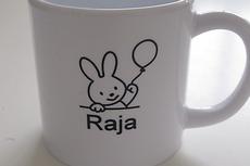 Koffiemok met konijntje