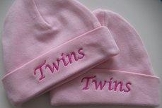 Tweeling babymutsen Twins