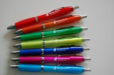 Pennen met bedrijfslogo