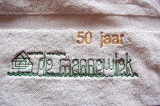Jubileum geschenken met logo