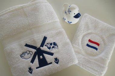 Handdoek Ik hou van Holland met Naam
