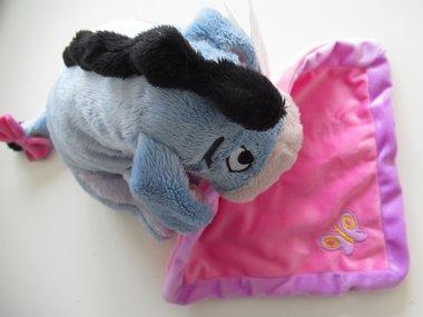 Eeyore geboorte knuffel met Naam