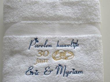 Parelen huwelijk cadeau | 30 jaar getrouwd