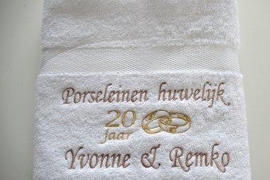 Porselein huwelijk cadeau | 20 jaar getrouwd