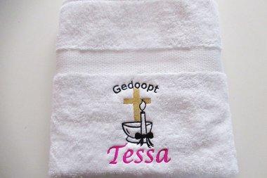 Handdoek voor Doop