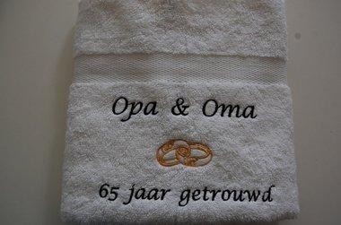 Opa & Oma ...  jaar getrouwd / jubileum cadeau