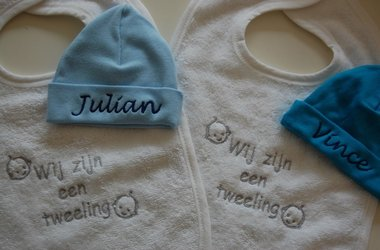 Kraamcadeau Tweeling Kado Meerling Baby Cadeau Twins