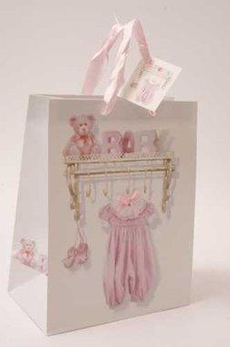 Luxe baby Kadotas Groot roze