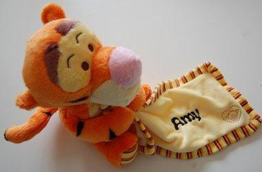 Tigger geboorte knuffel met Naam