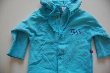 Baby Sweater / Hoodie Blauw met Naam