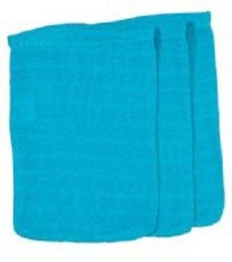 Hydrofiele washand Turquoise