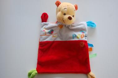 Winnie the Pooh knuffeldoek met Naam